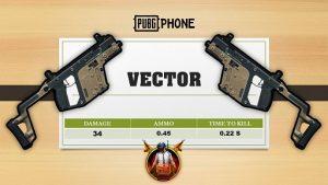 اسلحه وکتور بازی پابجی