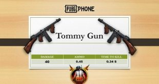 tommy gun پابجی